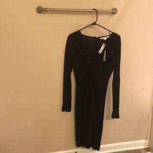 NWT!  Diane von Furstenburg size 6 midi dress